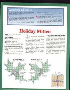 "~""HOLIDAY MITTEN""~ Pg 2/4"