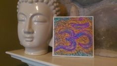 Check out this item in my Etsy shop https://www.etsy.com/listing/289826677/ceramic-tile-om-wall-artcoasters-magnets