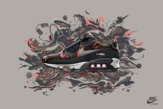 Nike Sportswear Air Max Camo Collection on Behance