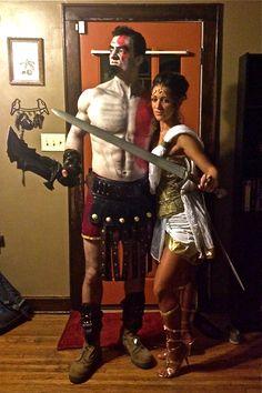 Kratos and Athena!