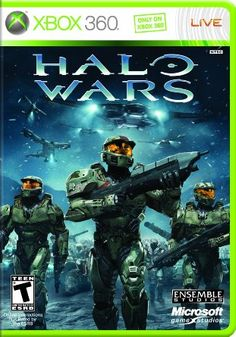 Halo Wars (Platinum) - Xbox 360 Video Game New) Command And Conquer, Xbox 360 Video Games, Xbox Games, Real Time Strategy, Strategy Games, Gta, Halo 3, Halo Game, Game Of Life