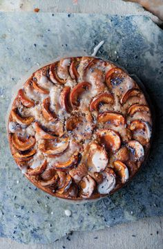 'Apricot, Walnut and Lavender Cake' - Ottolenghi' Plenty More