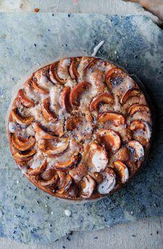 'Apricot, Walnut and Lavender Cake' - Ottolenghi' Plenty More