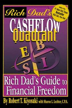 Robert Kiyosaki's book on wealth building changed my life. If you read it and apply the principles, it will change your life too. Information without application is just entertainment.