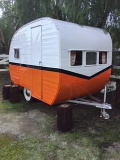 Peach 1963 Shasta Reno Restored Renovated O Tiny Trailers