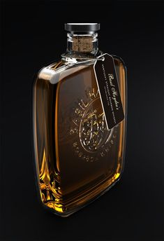 Basil Hayden's Whiskey, student work by Rachael Stefanussen.