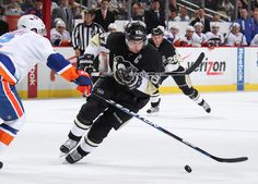 Sidney Crosby Pittsburgh Penguins vs New York Islanders March 27