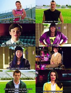 back in the day- quinn, puck, artie and finn are just...hahahahahahahahahahahahahaha