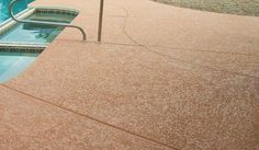 needing a new pool deck.  check out these great ideas.