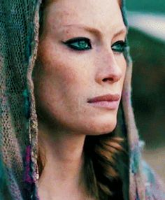 Thereat, Aslaug with a strange smile... and an ancestor if mine 2 or 3 times.. (GGM) Never speak of it again.