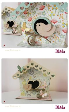 Ideias fofíssimas de quarto de bebê com passarinhos pra você se inspirar. Ideas for a baby bedroom with little birds to inspire you.