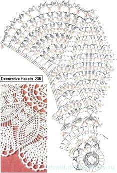 ru / Foto nº 89 - 3 - nezabud-ka Crochet Doily Diagram, Crochet Doily Patterns, Crochet Mandala, Crochet Chart, Thread Crochet, Crochet Motif, Crochet Designs, Doily Rug, Lace Doilies