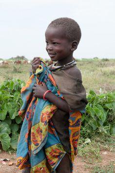 Africa Karamajong child, photographed in Kotido, Uganda    © Guido Aldi