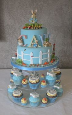 The story of the Peter Rabbit cake... - Little Cakes