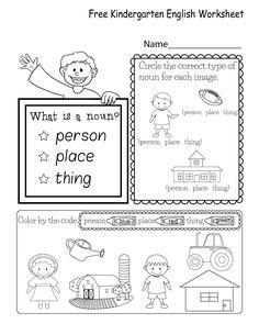 Kindergarten Worksheets Pdf Free Download English Worksheets For