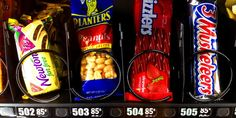 Can you guess which are the winners and losers in the vending machine?