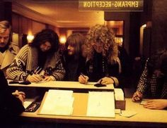 """Led Zeppelin                                     """"Check-In"""" Germany"""