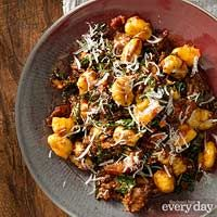 Short-Rib Ragu with Bacon & Kale...eliminate the gnocchi to make this low carb