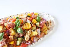 Panzanella Salad...my go to summer salad #inkfoods #panzanella