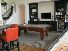 Complete With An Olhausen Pool Table And Shuffleboard