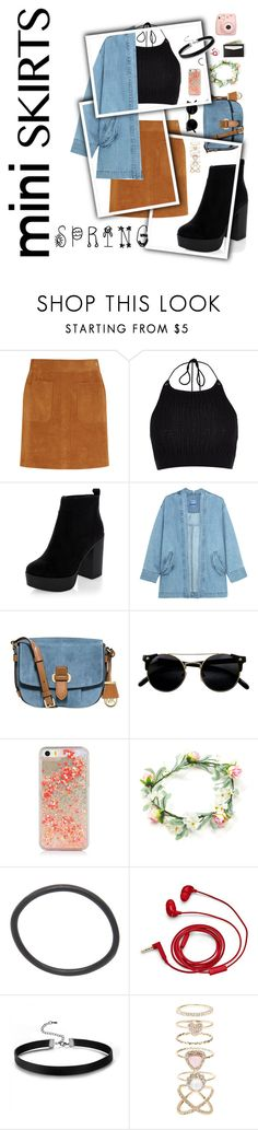 """""""Untitled #162"""" by thatweirdoakira on Polyvore featuring Frame Denim, River Island, Steve J & Yoni P, MICHAEL Michael Kors, FOSSIL and Accessorize"""