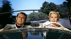 Kelly / Grant. Drifting.To Catch a Thief. '55.