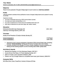 vet tech resume template httpexampleresumecvorgvet tech