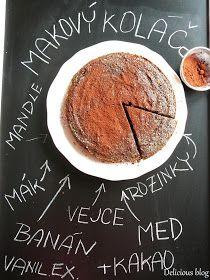 Delicious blog: Pečení bez mouky...Makový koláč Something Sweet, Menu, Sweets, Cooking, Breakfast, Cake, Desserts, Recipes, Delicious Blog