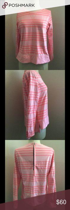 🌴Lululemon coral long sleeve shirt Rash Guard🌴 🌴like new long sleeve top Rash Guard in beautiful color coral🌴 lululemon athletica Tops Tees - Long Sleeve