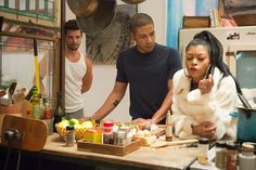 """Director Lee Daniels """"holds up the mirror to us as human beings,"""" said Jussie Smollett, who plays a young black gay character on the new Fox series Empire. Empire Tv Show Cast, Serie Empire, Empire Fox, Lucious Lyon, Fox Tv Shows, Empire Season, Lee Daniels, Hip Hop, New Television"""