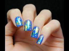 $2.99 Dazzling Starry Mixed Metals Nail Art Roll Foils Glitter Transfer Stickers Paper UV Deco - BornPrettyStore.com