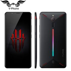 """ZTE Nubia Red Magic 4G LTE Mobile Phone 8GB RAM 128GB ROM Snapdragon 835 6"""" Octa Core Full Screen Fingerprint Android 8.1  Price: 369.60 & FREE Shipping #computers #shopping #electronics #home #garden #LED #mobiles #rc #security #toys #bargain #coolstuff 
