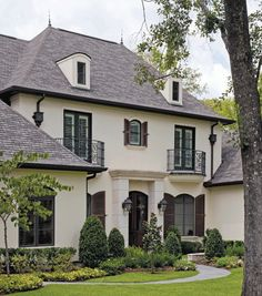 French style home with a more formal feel