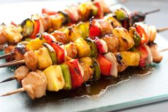 Cooking Classy: Grilled Chicken Teriyaki Kebabs