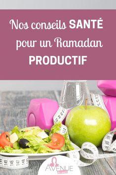 CONSEILS SANTÉ RAMADAN-min Programe Minceur, Manger Healthy, Eid, Religion, Voici, Physique, Muslim, Islamic, Design Inspiration