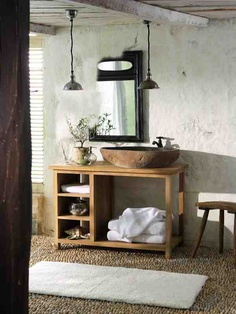wow, the lamps, the sink and the floor, love it!