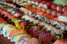One can never have enough sushi.
