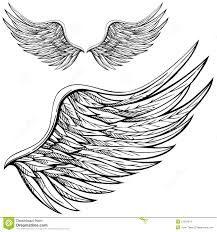 Resultado de imagem para desenho de asas de anjo pequena