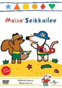 Maisa Seikkailee -dvd:llä Maisa, Keke, Tellu, Arttu ja Nipa seikkailevat mielellään! Lähde mukaan rakentamaan hiekkalinnoja, kiipeämään vuorille ja nauttimaan piknikistä metsässä!