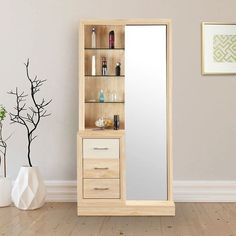 Dressing Table Mirror Design, Modern Dressing Table Designs, Furniture Dressing Table, Bedroom Dressing Table, Dressing Room Design, Dressing Tables With Mirror, Dressing Table With Storage, Dressing Cupboard, Wardrobe With Dressing Table
