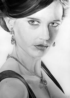 Eva Green by Portrait Lc  https://www.facebook.com/PortraitLc  #art #drawing #Graphit #portrait #black #white