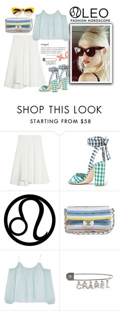 """""""The Lioness"""" by harperleo ❤ liked on Polyvore featuring Chloé, J.Crew, Chanel, Elizabeth and James, Dolce&Gabbana, fashionhoroscope and stylehoroscope"""