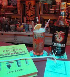 Planter's Punch featuring Coruba Original dark Jamaican rum. (Photo by ...