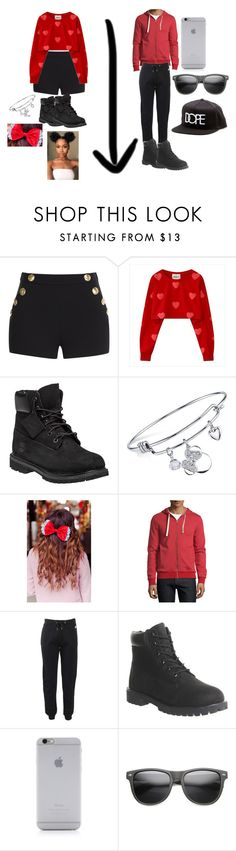 """""""goalzz"""" by nerdgirl14-boss on Polyvore featuring Boutique Moschino, Timberland, Disney, Beauxoxo, Penguin, Kenzo, Native Union and Dope"""