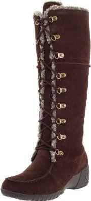 Amazon.com: Khombu Women's Saturn Lace Boot: Shoes