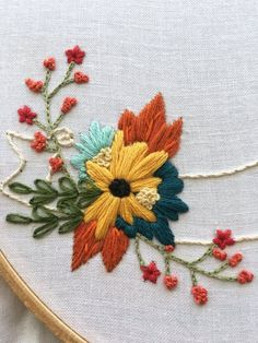 Wonderful Ribbon Embroidery Flowers by Hand Ideas. Enchanting Ribbon Embroidery Flowers by Hand Ideas. Silk Ribbon Embroidery, Crewel Embroidery, Cross Stitch Embroidery, Machine Embroidery, Embroidery Tattoo, Embroidery Thread, Embroidery Letters, Embroidery Fonts, Flower Embroidery