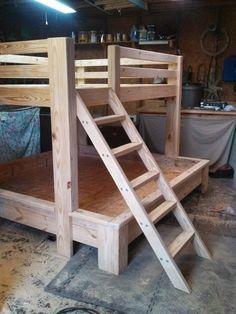 Bunk Beds Queen Over King