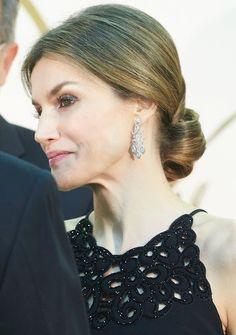King Felipe and Queen Letizia attends Mariano De Cavia awards