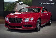2013 Bentley Continental GT, GTC V-8