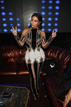 Kim Kardashian's Outfit from Last Night Is the Stuff of Legends  - HarpersBAZAAR.com